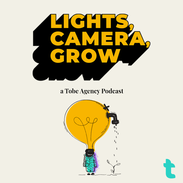 Lights, Camera, Grow Logo